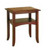 Craftsman End Table - Antique Walnut