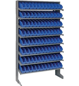 Sloped Shelf Storage Rack Image