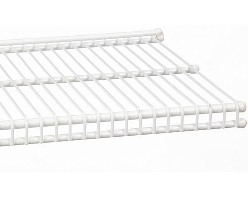 96 by 9 inch freedomrail ventilated shelf