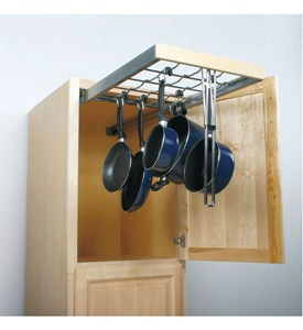Roll Out Pot and Pan Hanger Image