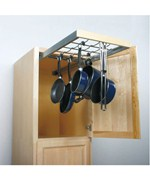 Roll Out Pot and Pan Hanger