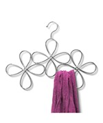 Metal Scarf Hanger - Flower Design