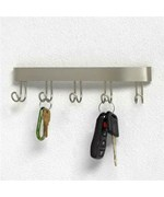 Key Hook Rack - Nickel