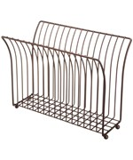 Free Standing Magazine Rack - Oil Rubbed Bronze