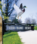 Mailbox Signs and Ornaments