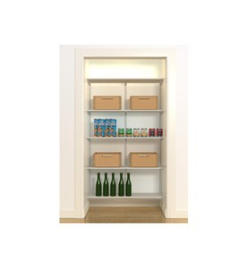freedomRail Wire Pantry Starter Closet Image