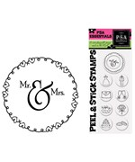 Custom Rubber Stamp Inserts - Wedding