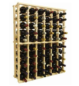 Wine Rack Kit - Redwood Do-It-Yourself Image