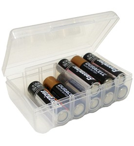 AA Battery Storage Box Image