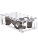 Crystal Clear Stackable Storage Drawer - Small