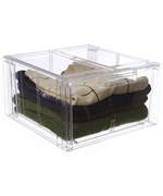 Crystal Clear Clothing Storage Drawer - Large
