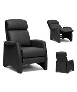 Aberfeld Modern Recliner Club Chair by Wholesale Interiors