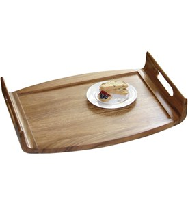 Solid Acacia Serving Tray Image