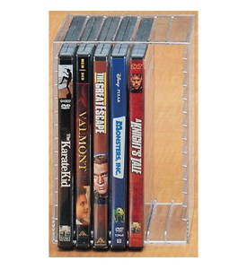 Acrylic CD or DVD Holder Image