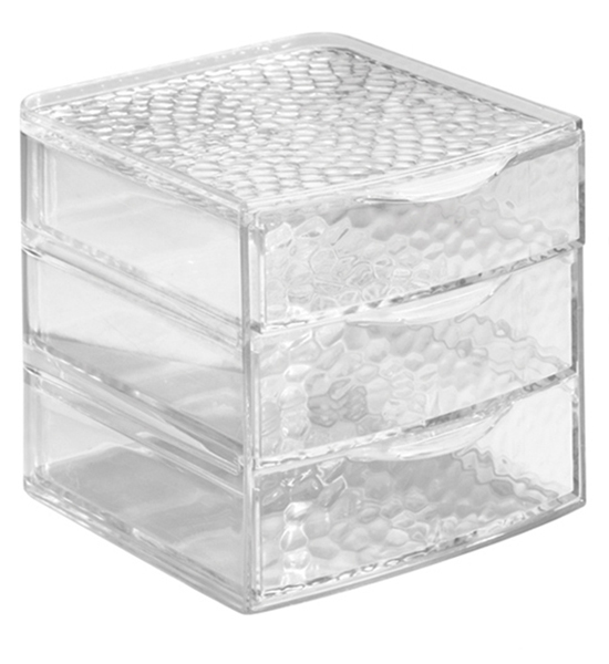 Acrylic Cosmetic Organizer with Drawers - Small in Cosmetic Organizers
