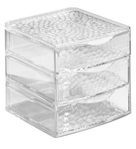 Acrylic Cosmetic Organizer with Drawers - Small Image