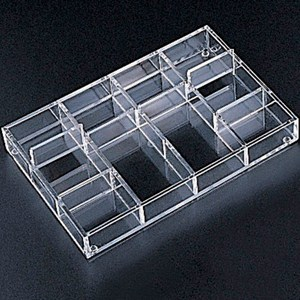 Acrylic Drawer Organizer - 12 Section Image