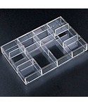 Acrylic Drawer Organizer - 12 Section