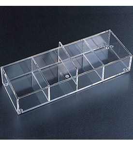 Acrylic Drawer Organizer - 4 Sections Image