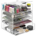Acrylic Organizer with Drawers