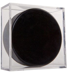 Acrylic Hockey Puck Display Case (Set of 2) Image