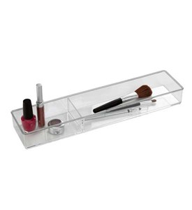 Acrylic Makeup Organizer - Two Section Image
