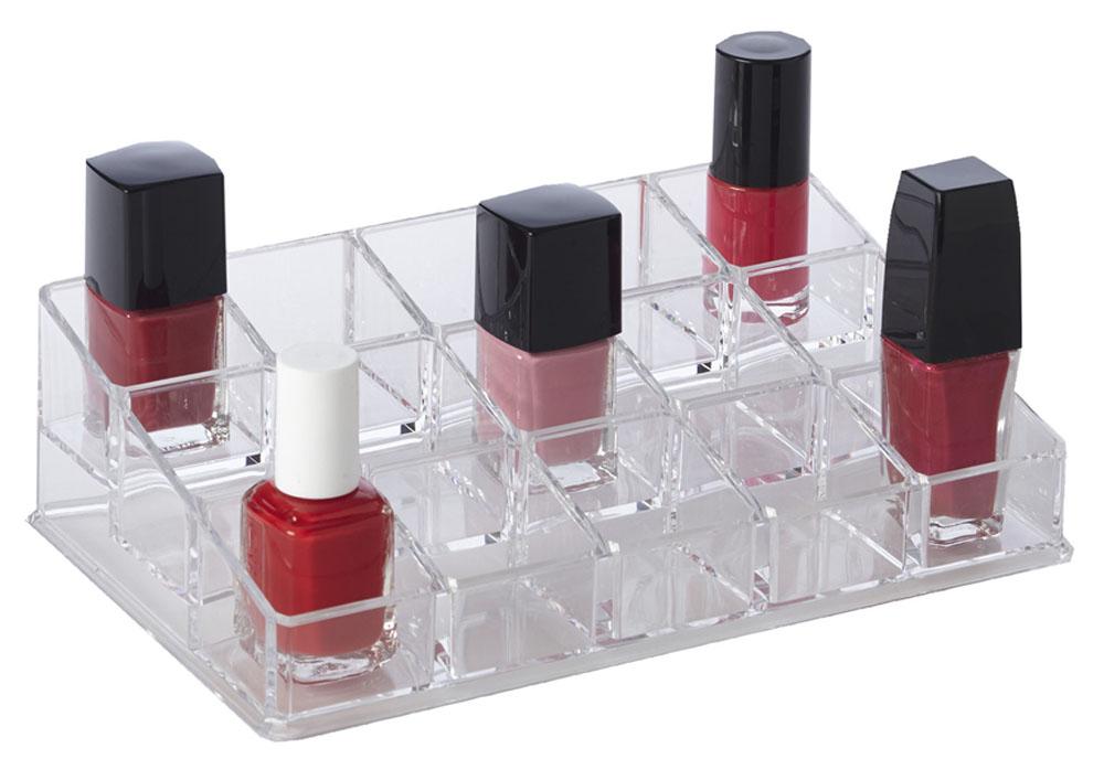Acrylic Nail Polish Holder Stores 15 In Nail Polish Storage