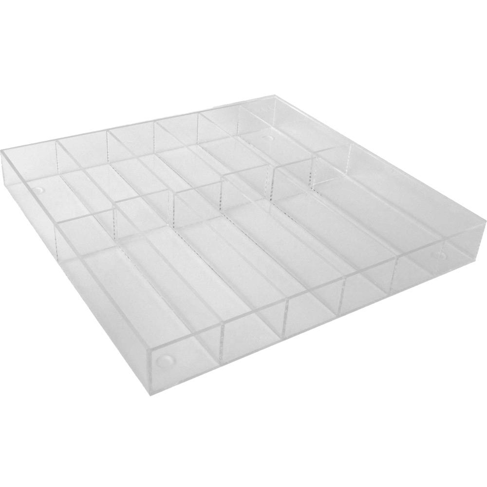drawer insert acrylic silverware tray