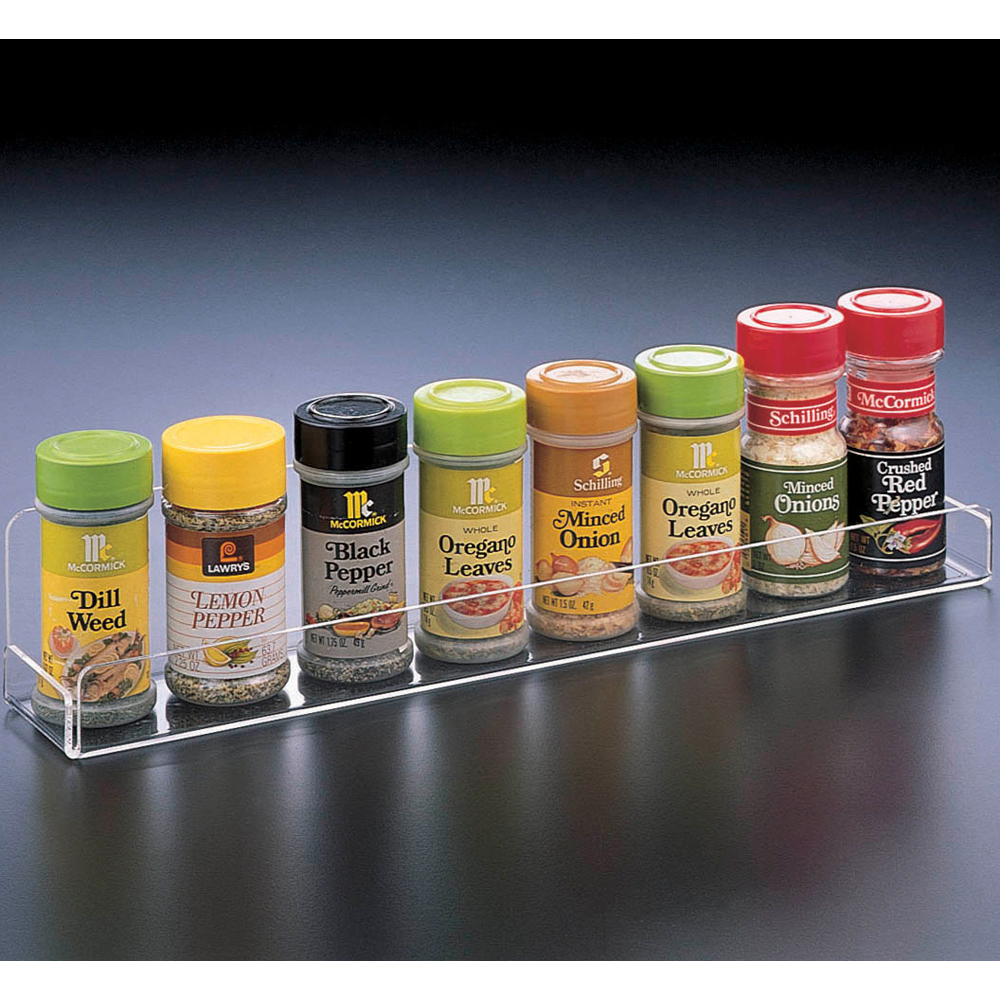 Acrylic Spice Rack In Spice Racks