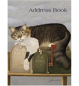 Address Book - Cat Image