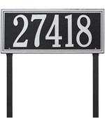 Standard Lawn Address Marker - Single Line