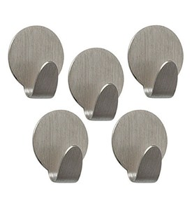 Adhesive Hooks (Set of 5) Image