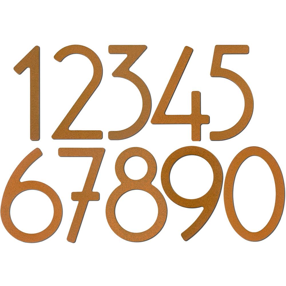 12 inch modern house numbers Modern House
