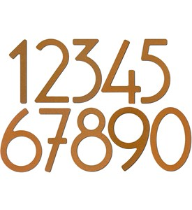 Adhesive House Numbers - 5 Inch Image
