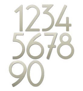 8 Inch Adhesive House Numbers Image
