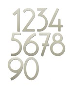 8 Inch Adhesive House Numbers