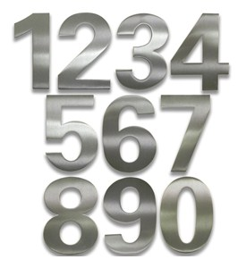 Adhesive House Numbers - Bold Image