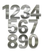 Adhesive House Numbers - Bold