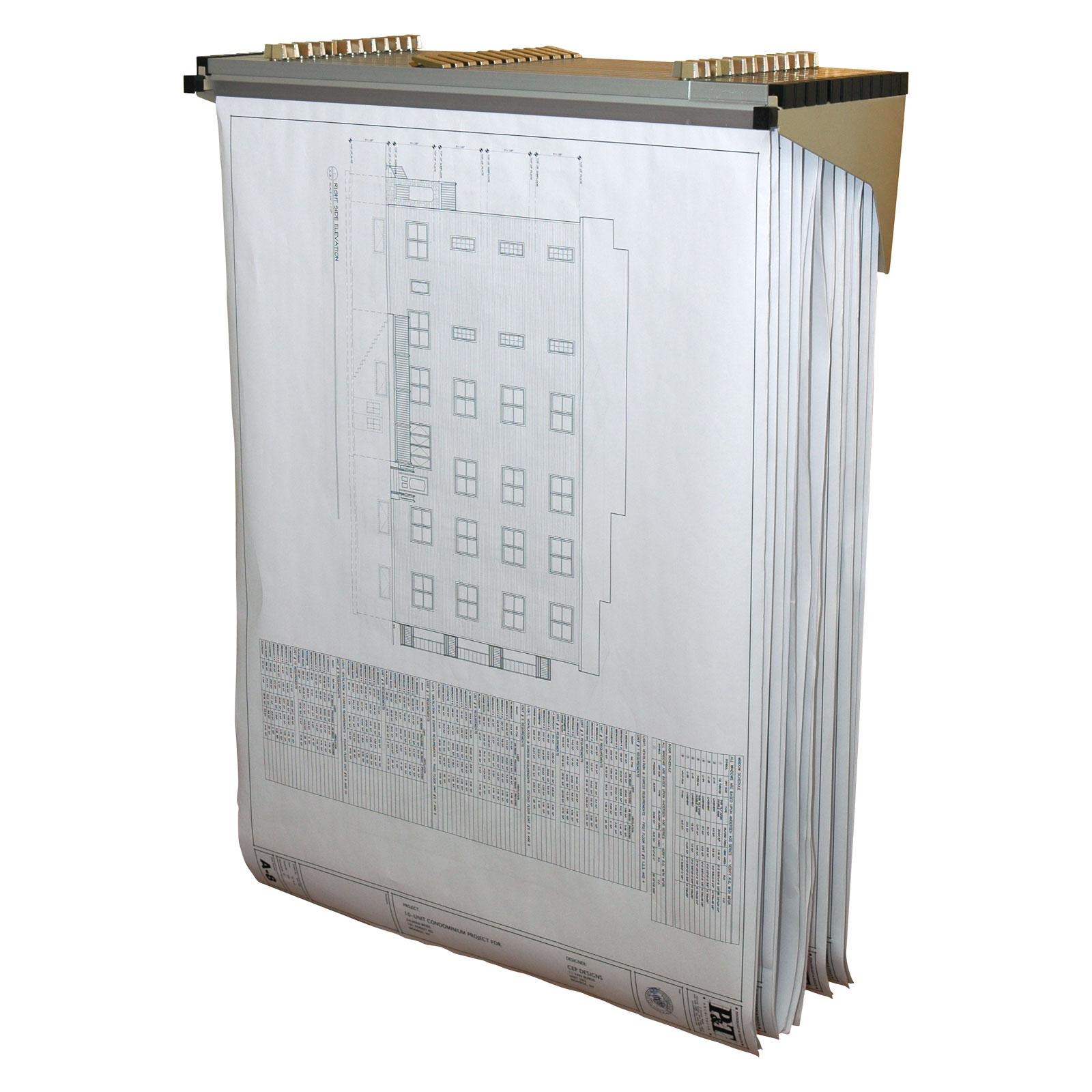 Blueprint wall rack in blueprint storage blueprint wall rack image malvernweather Images