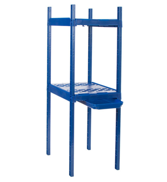 Elegant Adjustable Double Locker Shelf Image