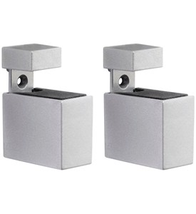 Adjustable Shelf Brackets - Metal Rectangles (Set of 2) Image