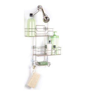 Adjustable Shower Caddy With Sliding Baskets Image