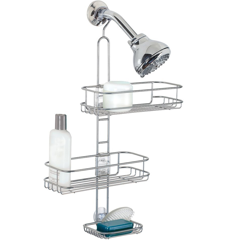 simplehuman adjustable shower caddy instructions