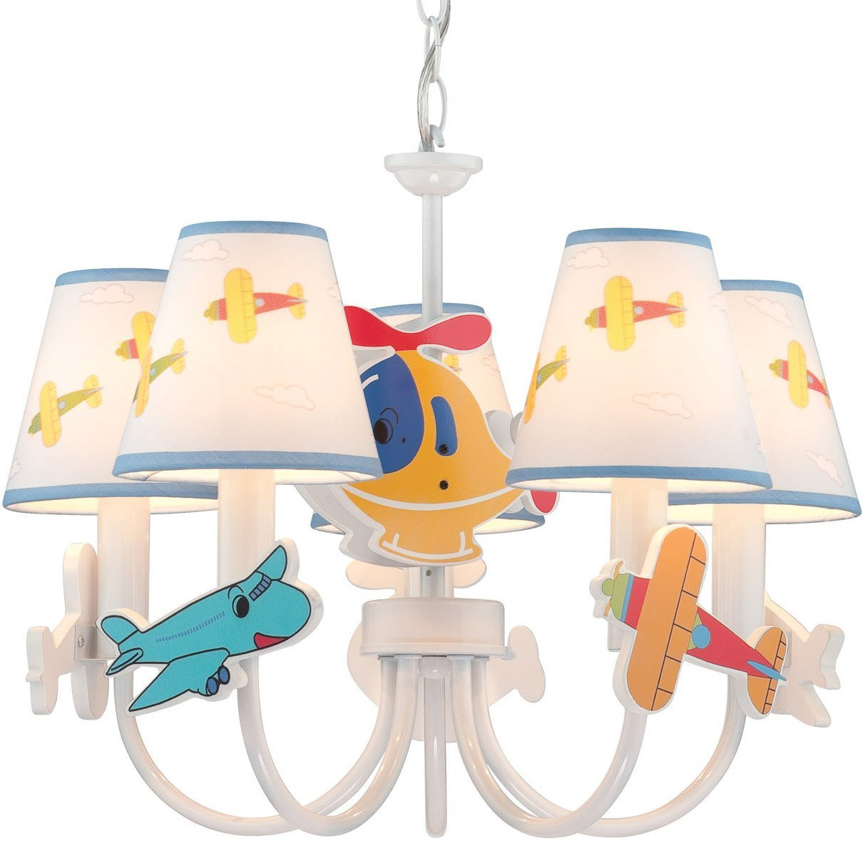 Aeroplani Ceiling Lamp In Kids Lamps