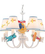 Aeroplani Ceiling Lamp by Lite Source
