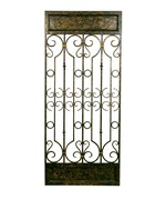 Metal Wall Decor in Aged Bronze by Passport