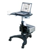 Aidata Adjustable Laptop Desk with Printer Tray