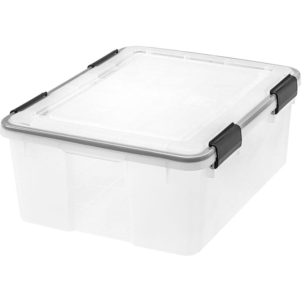 airtight storage box medium - Wreath Storage Box