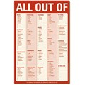All Out Of Magnetic Checklist Notepad