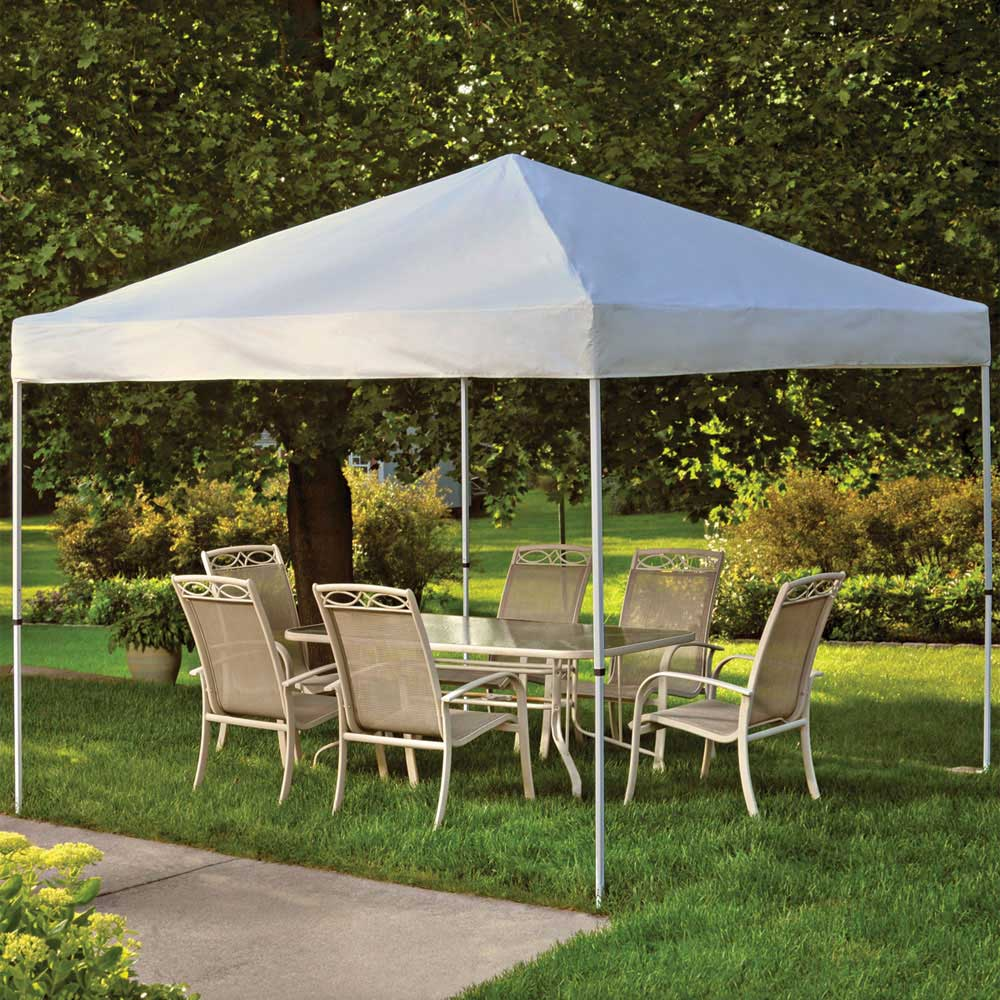 Shelterlogic Backyard Pop Up Canopy 10 X 10 In Canopies